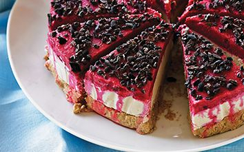 Hit The Sweet Spot: Raw Raspberry Cheesecake Recipe