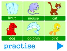GRAMMAR EXERCISES looking for common / proper nouns; matching common and proper nouns »   short and easy exercises (online games) which help learners practise the grammar points