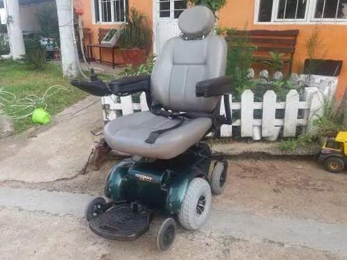 silla de ruedas electrica reestaurada asiento de elevacion