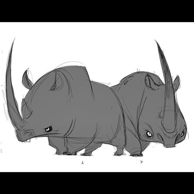 The Art Of Character Design With David Colman Download : Best creature design rhinoceros images on pinterest