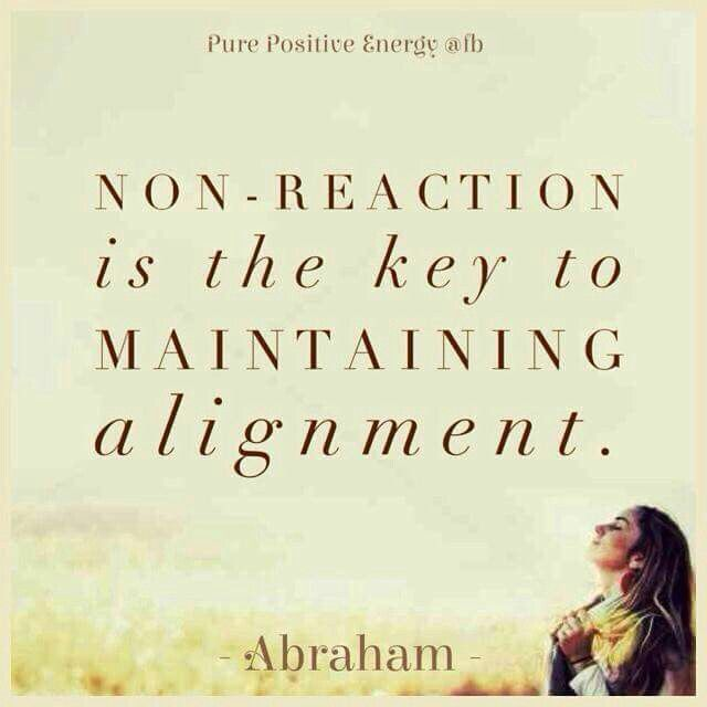 You don't have to react. Just feel if it feels good to react or not. Changing your perspective in the moment without reacting, becomes an act of creating. ---Mariëlle Duijndam