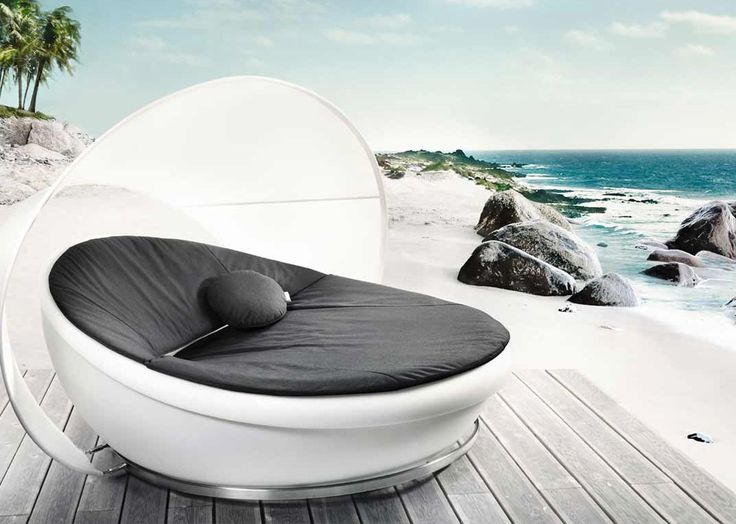 Marvelous Lagoon Modern Outdoor Lounge Daybed By Solpuri Images