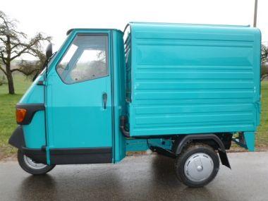 Casa Moto - Piaggio Dreiräder und mehr | Ape 50 Kasten Farbe Azzur Bay neues Modell 2017 | Piaggio Ape Händler aus Bergatreute