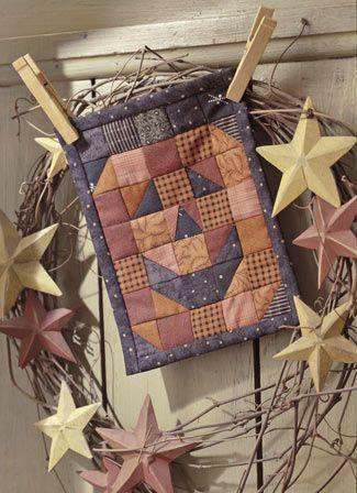 Jack O Lantern quilt