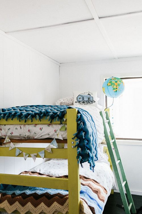 Sneak Peek: Paula Kilpatrick of Tuppenny Farm | Design*Sponge I love every color in this space... Together:)