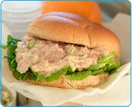 The Sneaky Chef: Free Healthy Recipe for Tuna Sandwiches from Simple Strategies for Hiding Healthy Foods in Kids' Favorite Meals