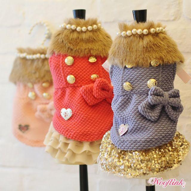 WOOFLINK - Hip designer dog clothes: ♥ POSH GIRL ♥