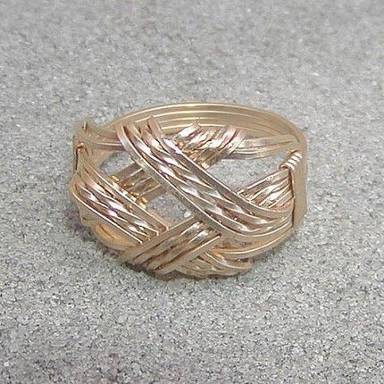 Rose Works Jewelry's Treasury Blog: Jewelry Series - Wire-Wrapped Rings Part 2