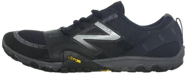 New Balance - Mens Minimus 10V2 Trail Minimal Running Shoes, UK: 9 UK - Width 2E, Black with Silver