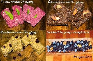 Čtyři recepty na Živé Chia tyčinky z letního ovoce
