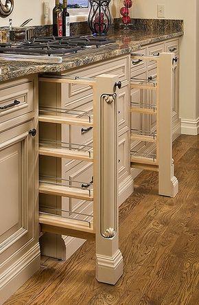 Custom Kitchen Cabinets | Custom Kitchen Cabinets | Flickr - Photo Sharing! spice racks
