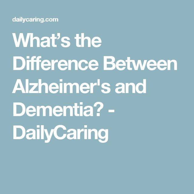 difference between dementia and alzheimer's - 640×640