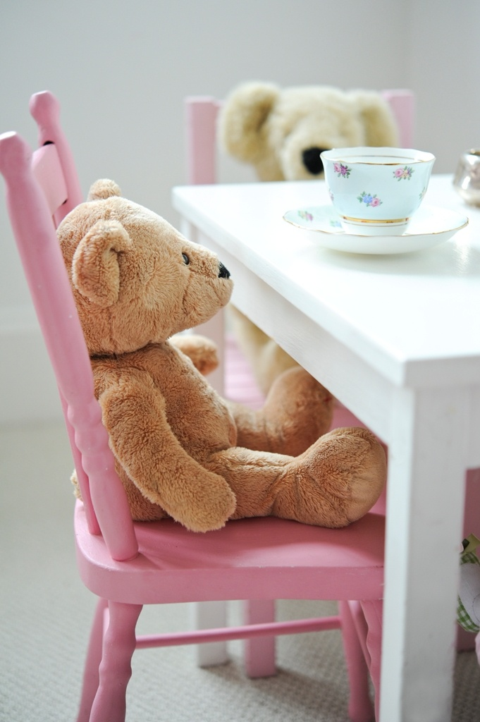 Teddy Bears at Tea
