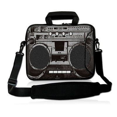"""Cool BoomBox 17"""" 17.3"""" Laptop Shoulder Bag Handle Case For Toshiba Toshiba Dell"""
