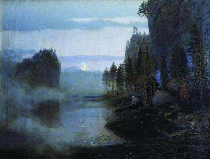 Баллада. Урал. 1897 - Васнецов Аполлинарий Михайлович