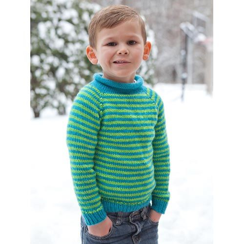 Free Knitting Patterns For Children s Pullovers : Knitting Patterns Galore - Knit for Kids Top Down Pullover Knit?Boys?Clothe...