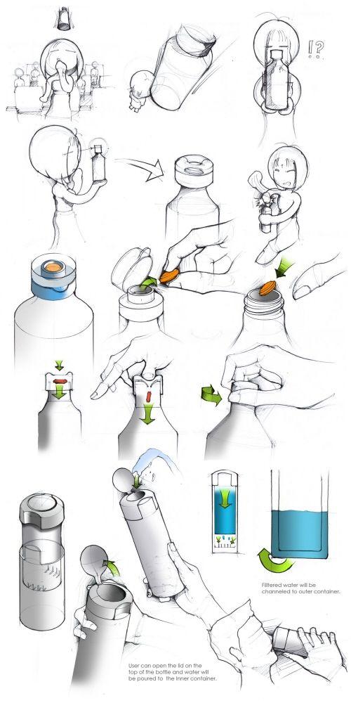 Sketches by Jihoon Kim at Coroflot.com