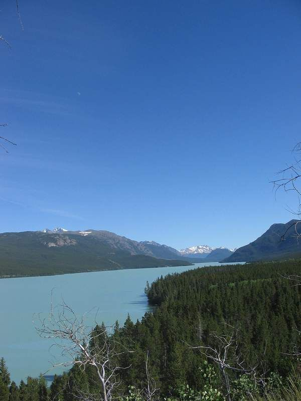 Beautiful view of #Chilko Lake!
