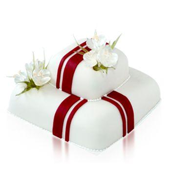 Karamell krókuszos torta Daubner Cukrászda