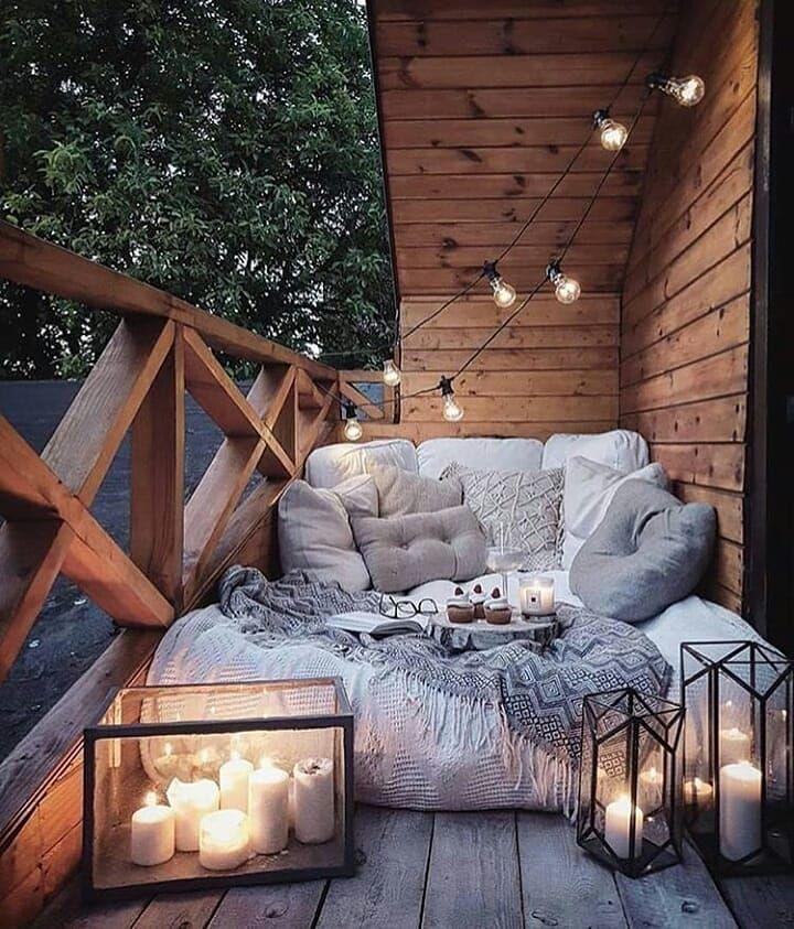 21 Gemütliche und elegante Designideen für kleine Balkone