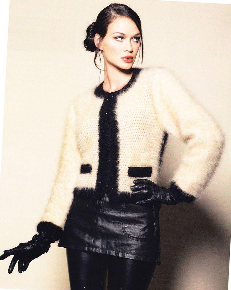 Вязаные изделия Коко Шанель и Карла Лагерфельда: тенденции современной вязанной моды стиля Шанель - Ярмарка Мастеров - ручная работа, handmade