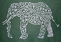 Tribal Elephant - Cross Stitch Pattern: Crosses Stitches Patterns, Tribal Elephants, Elephant Cross Stitch, Cross Stitch Patterns, Elephants Crosses Stitches, Tribal Patterns