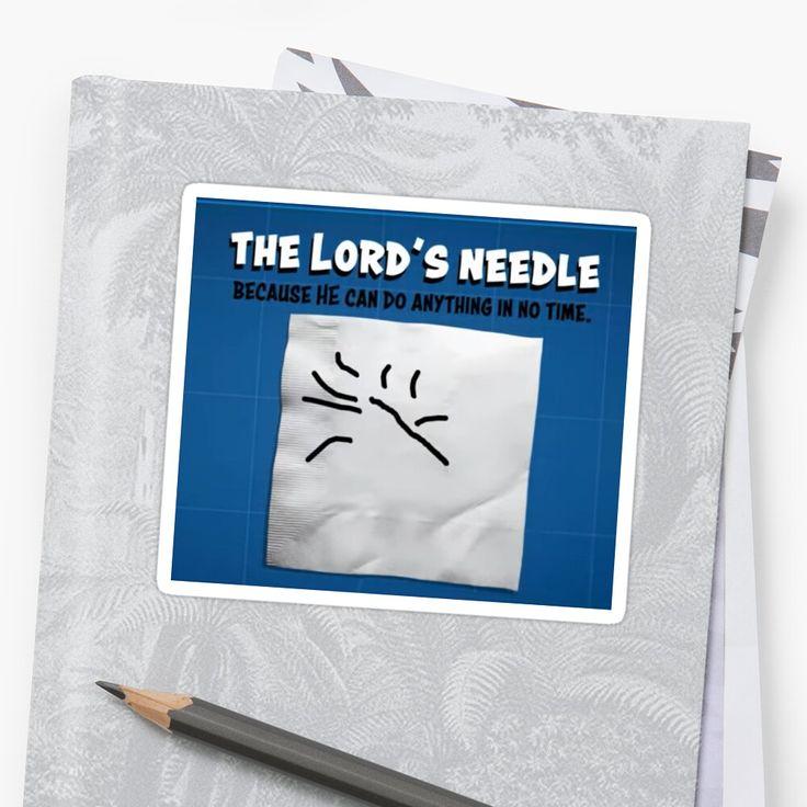 Broadwayjackbox The Lord S Needle Ben Levi Ross Sticker By Tara Jenkins Dear Evan Hansen Lord Finding Yourself