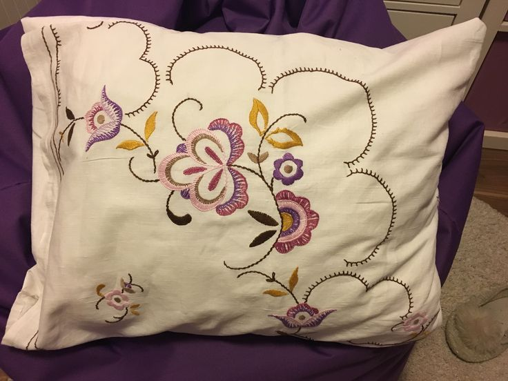 Stitch pillow