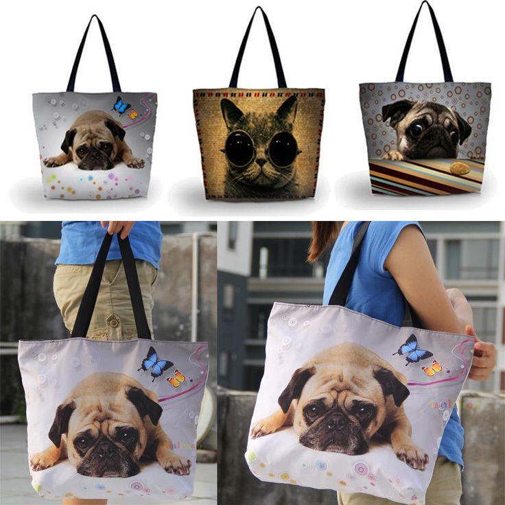 Folding Large Storage Bag Reusable Shopping Shoulder Tote Handbag Grocery Bags