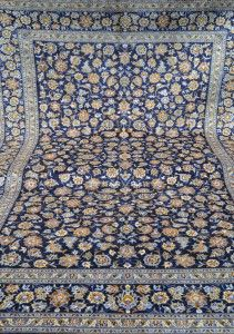 Four Year Fabulous - Provenance Auction House: Kashan Carpet.