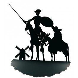 Sujetalibros Quijote y Sancho