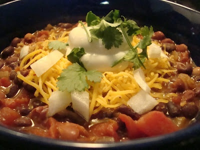 Chunky Vegetarian Chili (Summer Chili) | Food to Try | Pinterest