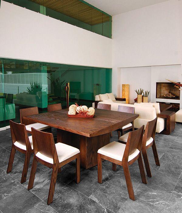 M xico contempor neo es un concepto de mueble mexicano que for Comedores en mexico