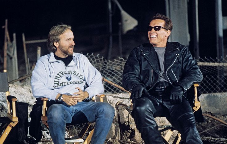 One of the main percussive sounds of Brad Fiedel's score - the metallic beats of the Terminator theme - is not created by a synthesizer. It's Fiedel striking one of his cast-iron frying pans.  Terminator 2: Judgment Day  (1991)