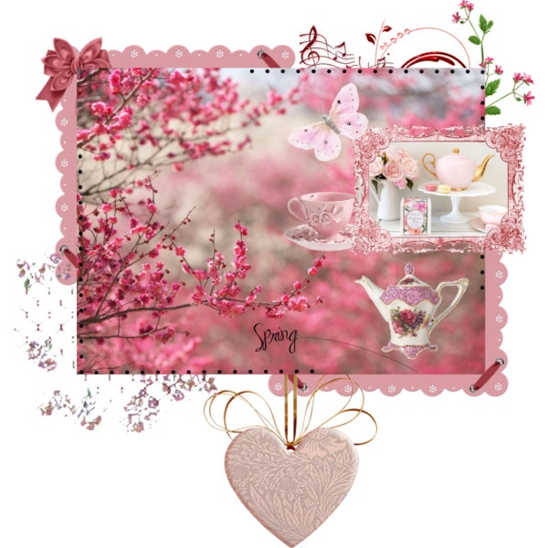 """Pink Spring"" by acreativelife on Polyvore"