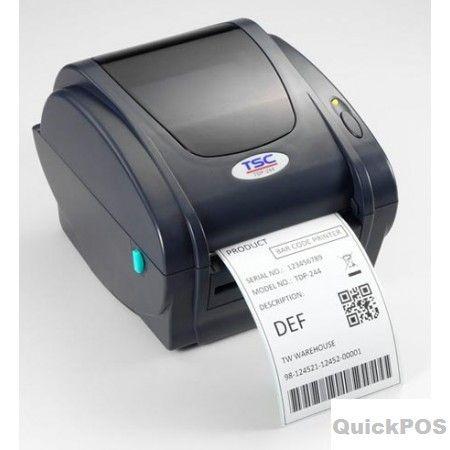 "Looking for TSC TTP-343C 4"" DT+TT 300 DPI Desktop label printers? QuickPOS is specialize in huge branded POS Label Printers seller in Australia..!  http://www.quickpos.com.au/tsc-300dpi-desktop-label-printers"