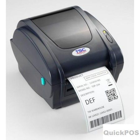 "Looking for TSC TTP-343C 4"" DT+TT 300 DPI Desktop label printers? QuickPOS is specialize in huge branded POS Label Printers seller in Australia..!  http://www.quickpos.com.au/tsc-300dpi-desktop-label-printers"