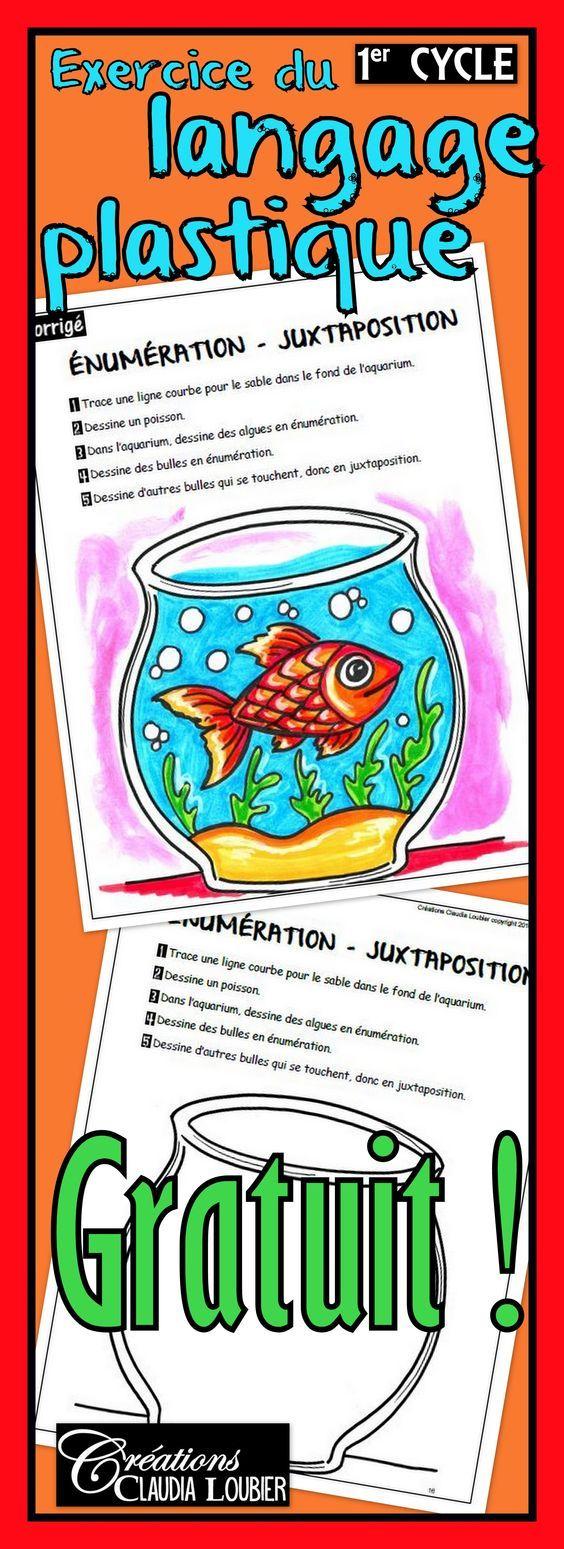 Il me fait plaisir de vous offrir cet exercice du langage plastique pour le premier cycle. Travailler les notions d'énumération et du juxtaposition avec vos élèves, en remplissant cet aquarium. Consignes simples et faciles à suivre. Pour les élèves de première année, vous devrez lire les consignes avec eux. Cet exercice fait partie d'un ensemble de 13 exercices visant à travailler la totalité des notions à voir au premier cycle en arts plastiques.