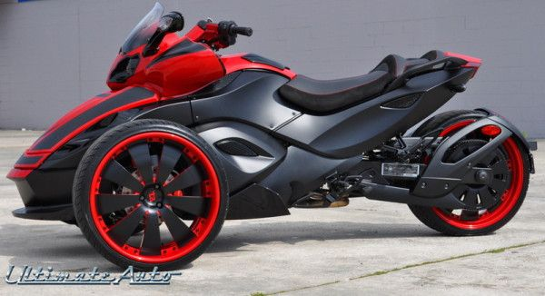 I want one please! can am spyder custom | Can Am Spyder | Custom Car Gallery | Orlando, FL