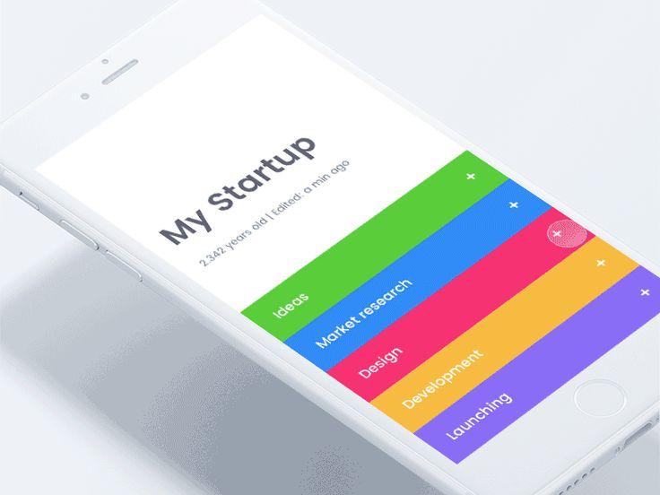 My startup app