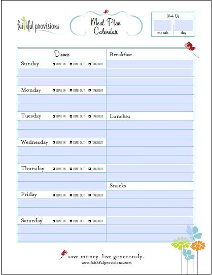 Pinterestu0027teki 25u0027den fazla en iyi Meal planning templates fikri - fitness plan template