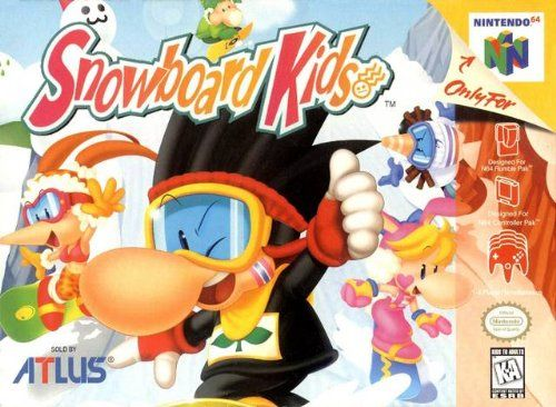 Snowboard Kids. Release date Feb. Operating system: Nintendo 64. ESRB-Everyone. 1998. Racing and Flying Games. Snowboarding.