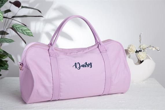 Personalized Overnight Bags For Girls Soft Weekender Bags Cheap