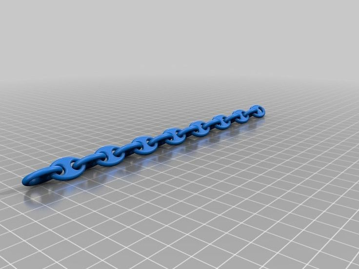 Anchor chain by swervinglemon thingiverse anchor chain