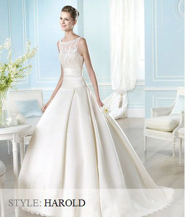 San Patrick Wedding Gown - 2014 Costura Collection  - Harold