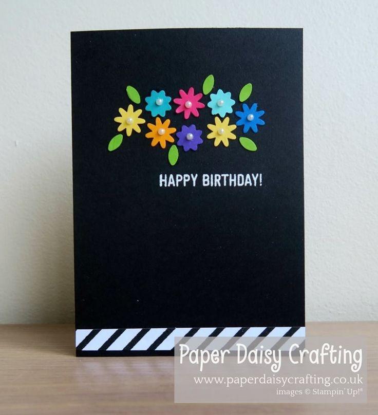 Floral Birthday Card Handmade Birthday Cards Birthday Cards Diy Greeting Cards Handmade