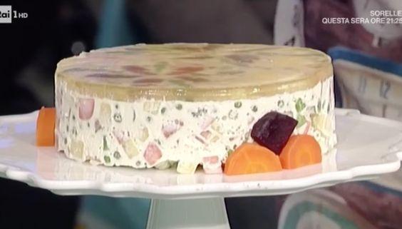 Dalle ricette La prova del cuoco oggi 9 marzo 2017 la ricetta dell'insalata russa di Luisanna Messeri