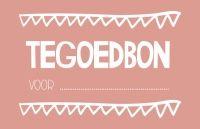 Tegoedbon voor ....... (zelf in te vullen!) Leuk voor valentijn!  Je shopt deze tegoedbon op: http://www.bybean.nl/tegoedbon