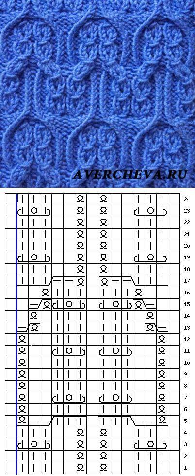 Узор 807   каталог вязаных спи