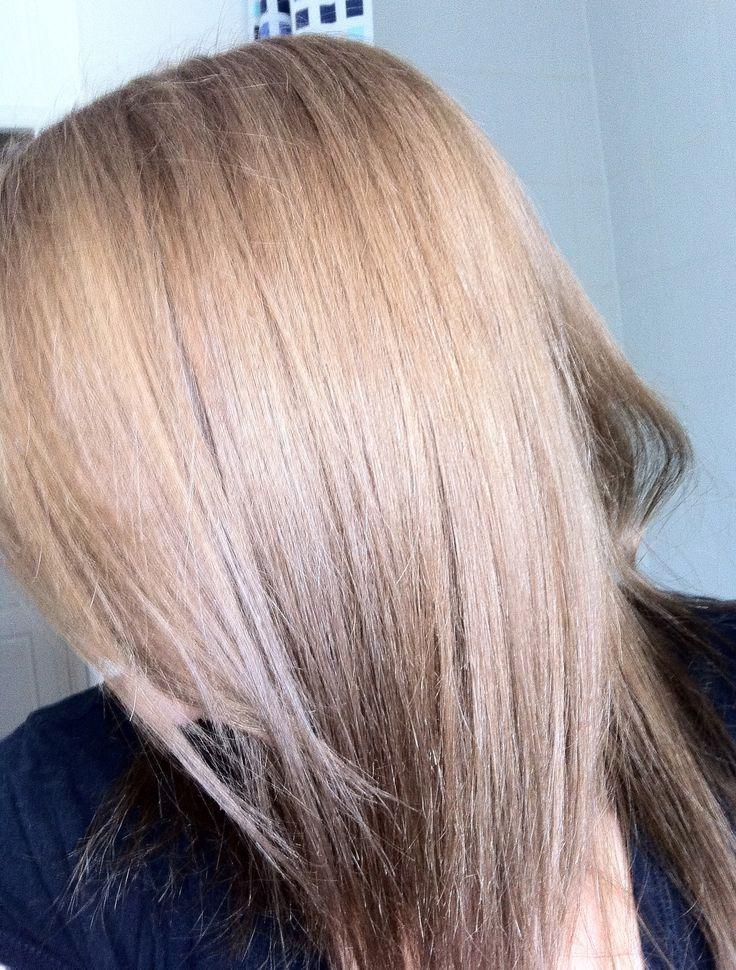 Golden Blonde and Medium Ash Blonde